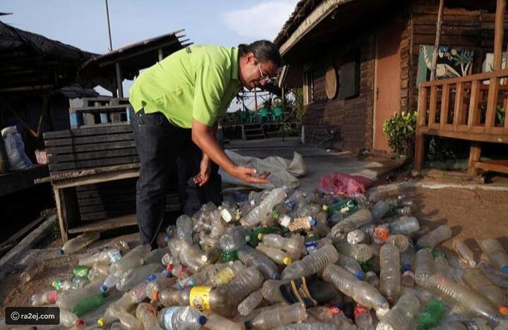 صديقة للبيئة: هل تفضل الاستجمام في جزيرة بنيت من النفايات؟