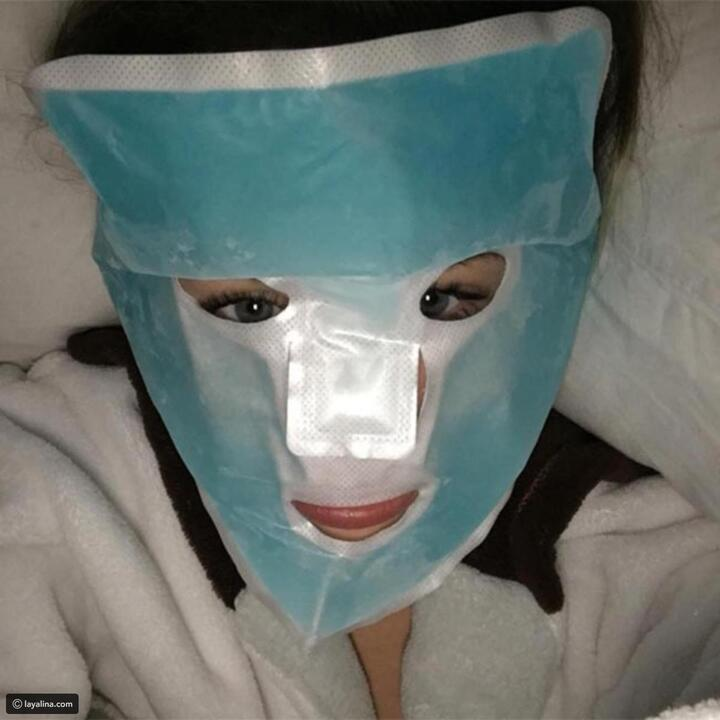 صور مضحكة للنجمات عند وضع ماسك العناية بالبشرة: رقم 30 أصبحت خضراء