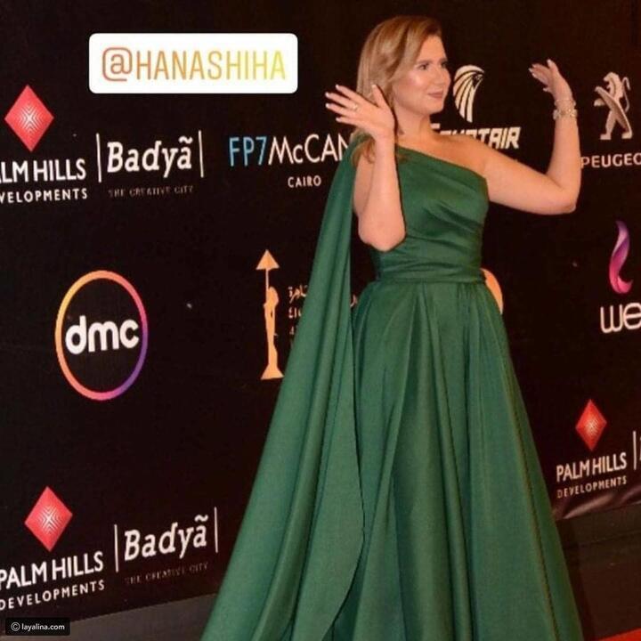 أصفر وأخضر وأحمر: فنانات خالفن الزي الرسمي لمهرجان القاهرة السينمائي!