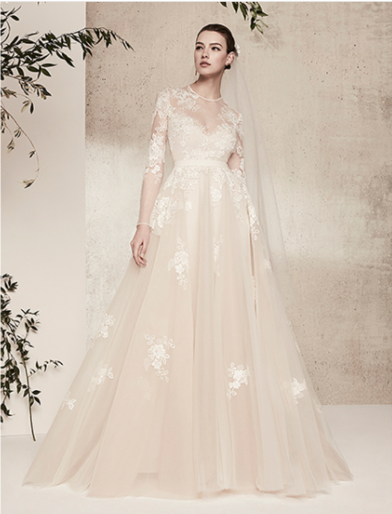 طالعي مجموعة إيلي صعب لفساتين الزفاف ربيع 2018