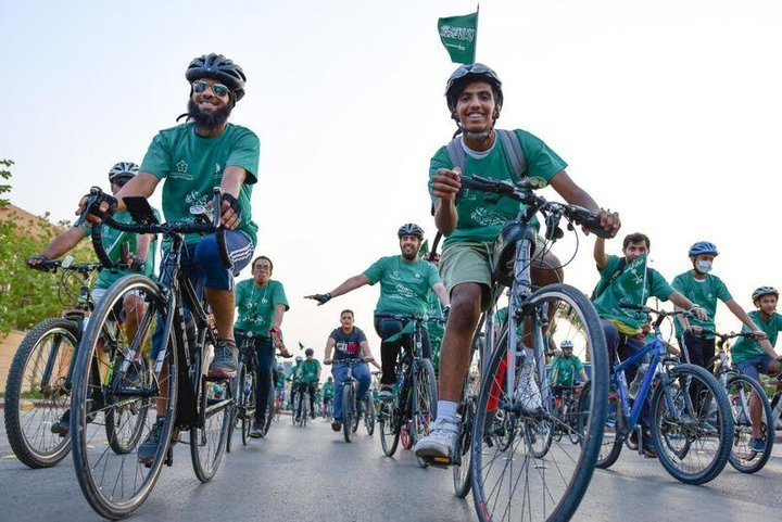 رحلات استكشافية في السعودية في اليوم الوطني