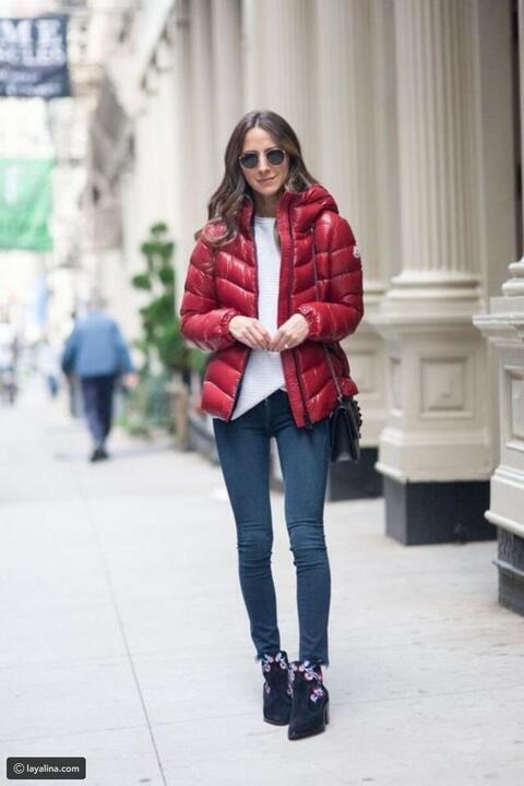 استعدي للشتاء: بإضافة Puffer Jacket إلى ملابسك