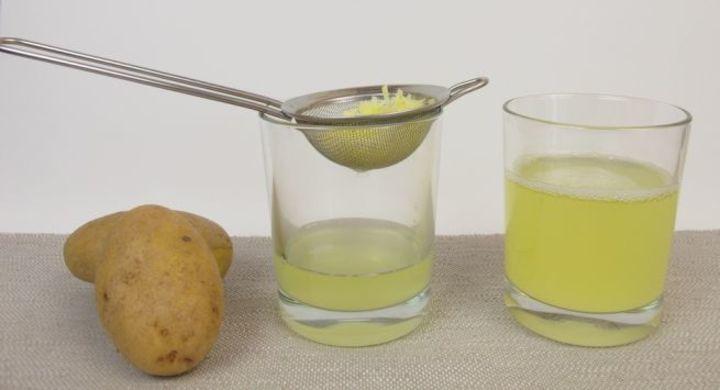فوائد عصير البطاطس للشعر