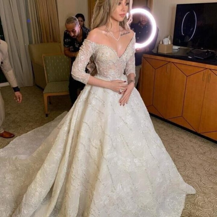 حصاد 2019: أجمل فساتين زفاف النجمات