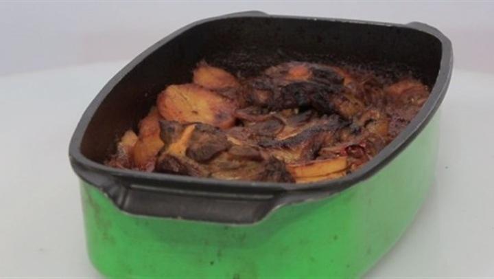 طريقة عمل صينية بطاطس بـ الرقبة الضاني لـ الشيف شربيني