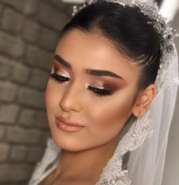 مكياج برونزي للعروس من انستغرام 2019