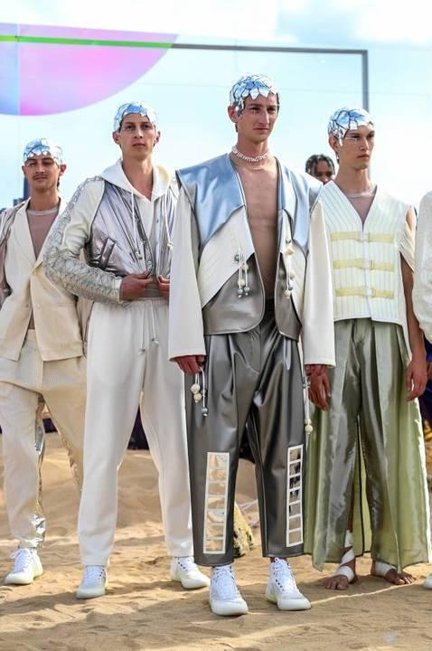 الأزياء المتاليكيّة تطغى على عرض Pigalli للرجال