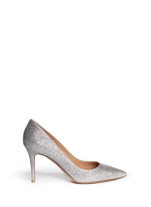 5351e8fa7 أجدد موديلات أحذية فضية للعروس