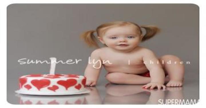 10 أفكار لتصوير طفلك فى عيد ميلاده الأول