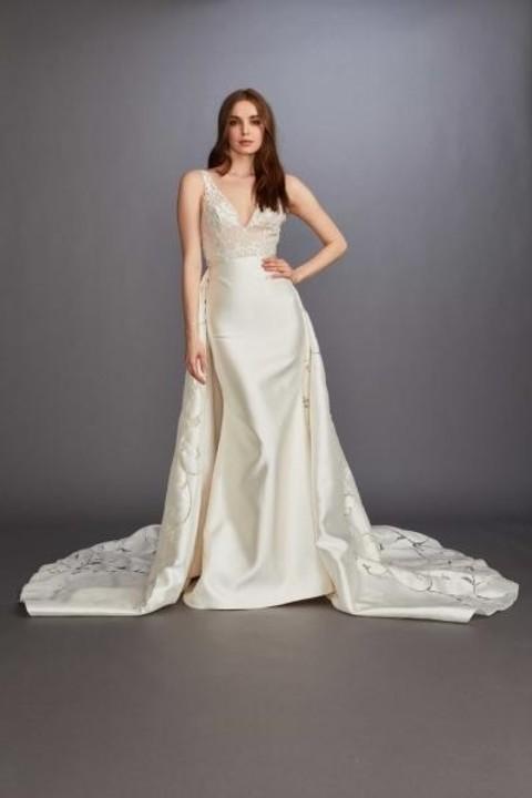 فساتين زفاف موضة ربيع 2020 من أسبوع نيويورك للعروس القصيرة