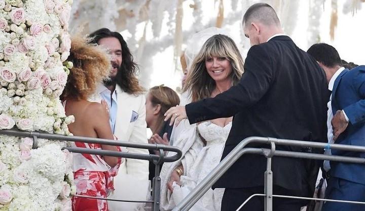 هايدي كلوم تحتفل بزفافها للمرة الثانية على رجل يصغرها بـ 17 عاماً!