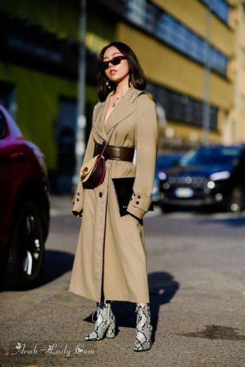 أحدث أزياء موضة الشارع من أسبوع الموضة في ميلان