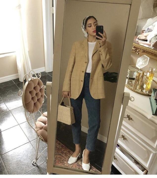 ملابس كاجوال للمحجبات بأسلوب سالي عاشور
