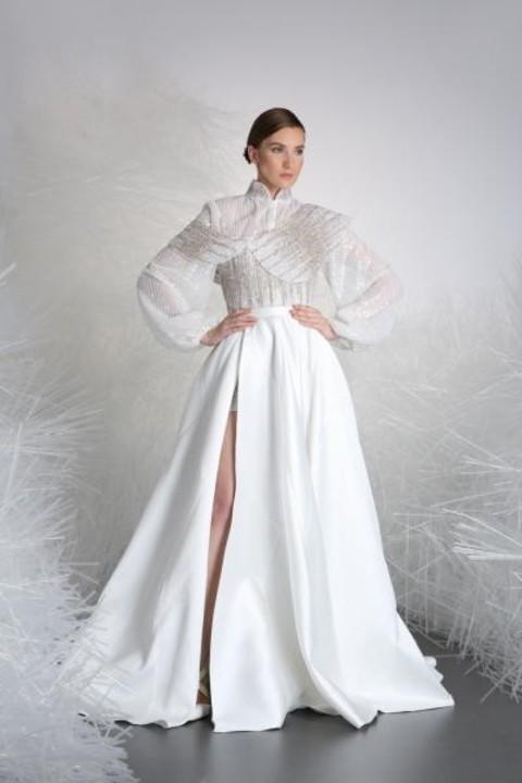 موديلات فساتين زفاف عصرية وغير تقليدية 2019