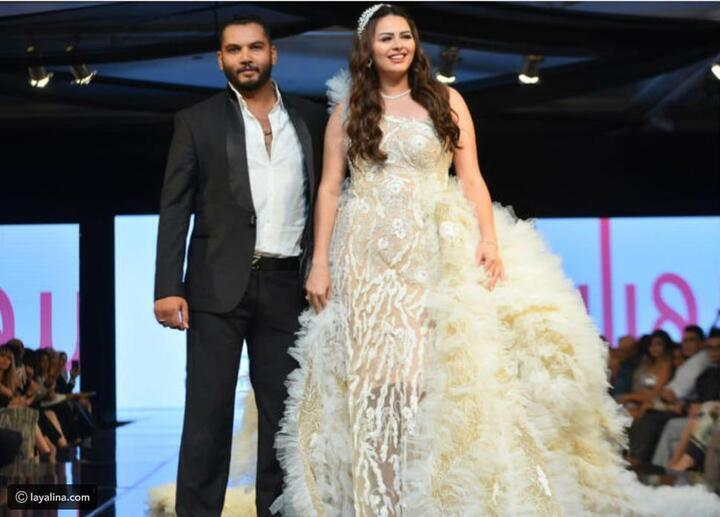 لن تصدقي قيمته: هنادي مهنا تتألق بفستان زفاف مطرز بالذهب!