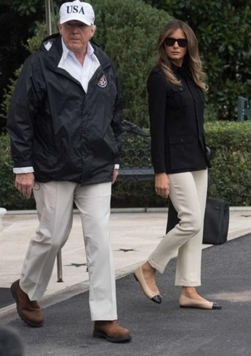 هل تعرفين ما هي الأحذية المفضلة لدى ميلانيا ترامب؟