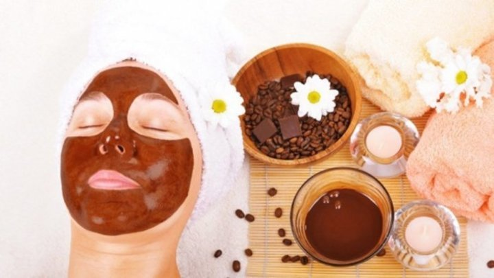 سكراب القهوة لتفتيح جسم العروس في اسبوع