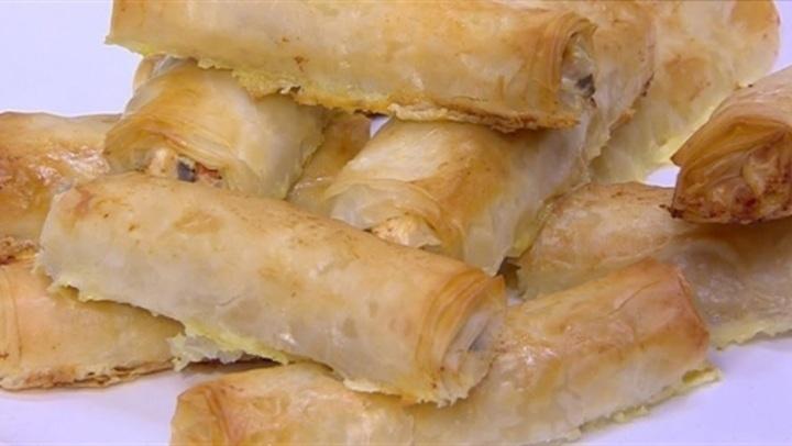 طريقة عمل رول الجلاش بالجبنة بخلطة الشيف نورا السادات