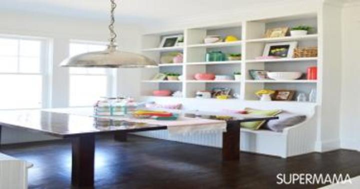 بالصور: 8 أفكار لديكور غرف المائدة الصغيرة