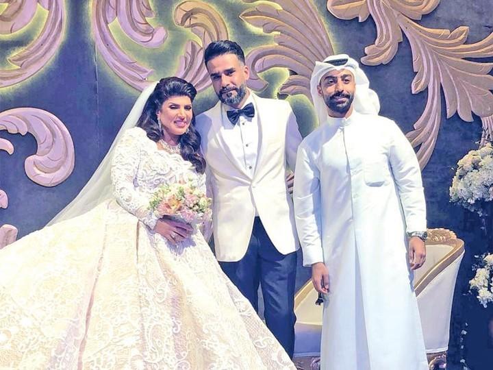 نجمات ممتلئات قمة الجمال في يوم زفافهن