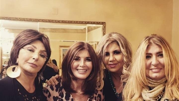 نجمات السبعينيات والثمانينيات..بوسي شلبي تتألق برفقة ميرفت أمين ونبيلة عبيد
