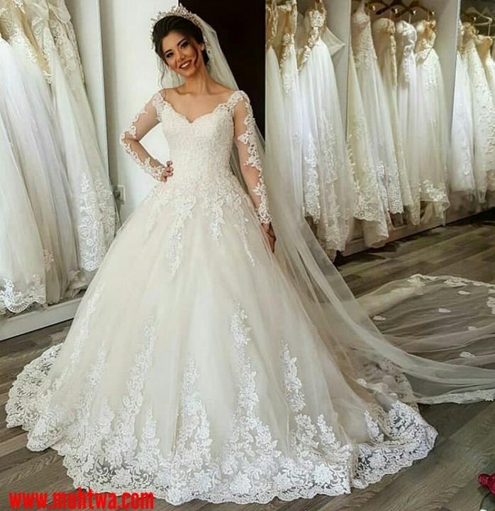 c5356d950 اليك احدث موديلات فساتين الزفاف