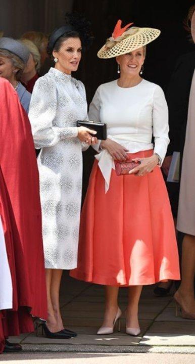 بين كيت ميدلتون والملكة ليتيزيا... من فازت بتاج الأناقة؟