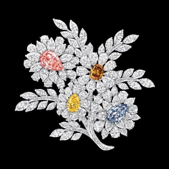 موديلات بروشات للعروس بوحي من الطبيعة