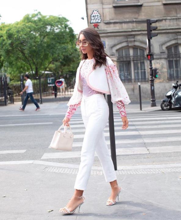 الفاشينيستا العربيات في ستريت ستايل في أسبوع الموضة