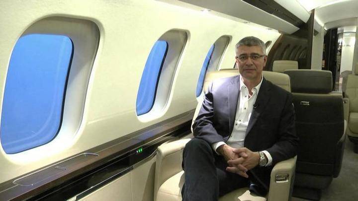 طائرة رجال الأعمال الأكثر فخامةً في العالم