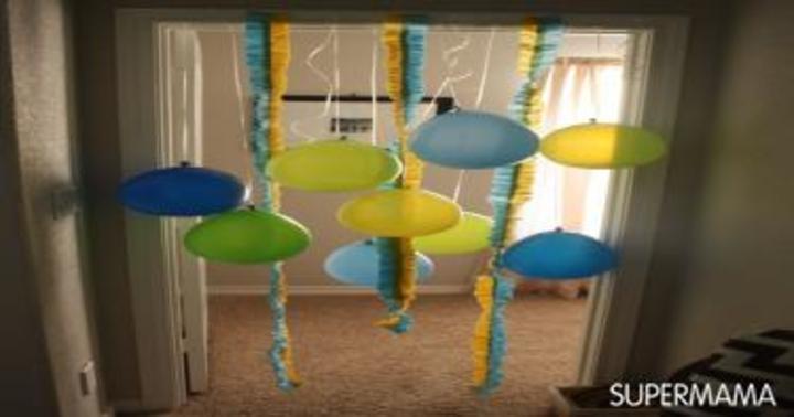 اصنعي بنفسك ديكور حفل عيد ميلاد طفلك في المنزل