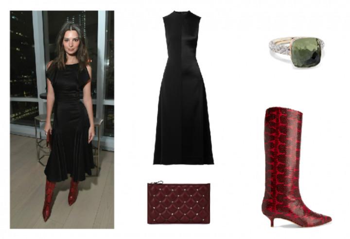 أفكار مميزة لتنسيق الفستان الأسود بأسلوب النجمات