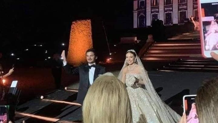 حفل زفاف أسطوري في فرنسا لـ نجل مدير مصرف لبنان المركزي.. فيديو وصور