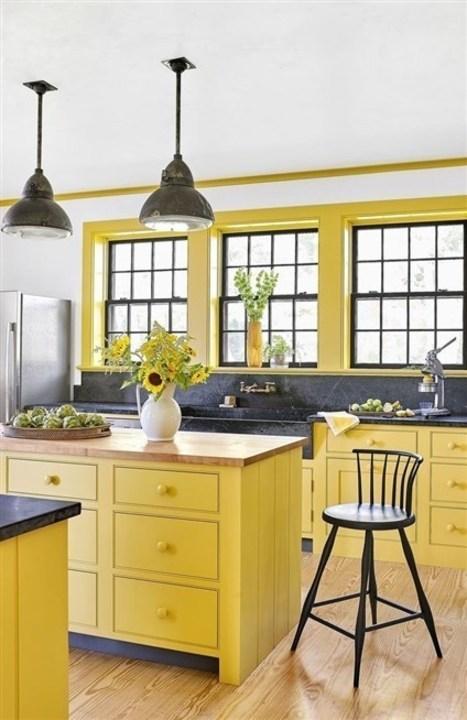 بالصور... ديكورات بألوان زاهية تعزّز جاذبية مطبخك!