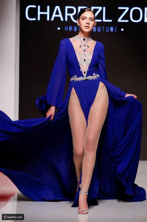 بالأناقة الجريئة، العالمي شربل زوي يفتتح أسبوع الموضة العربي في دبي