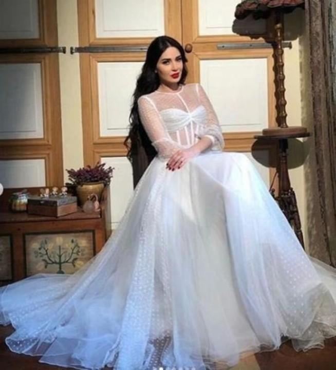 أجمل فساتين زفاف بوحي من النجمات