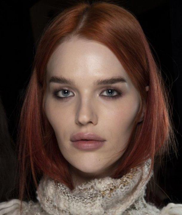 صبغات الشعر الأحمر أحدث موضة للمواسم المقبلة
