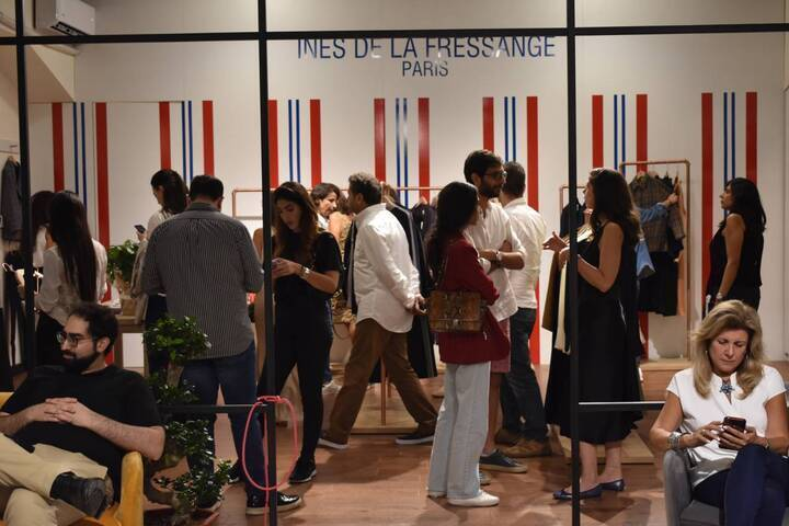 إطلاق ماركة Ines De La Fressange في بيروت