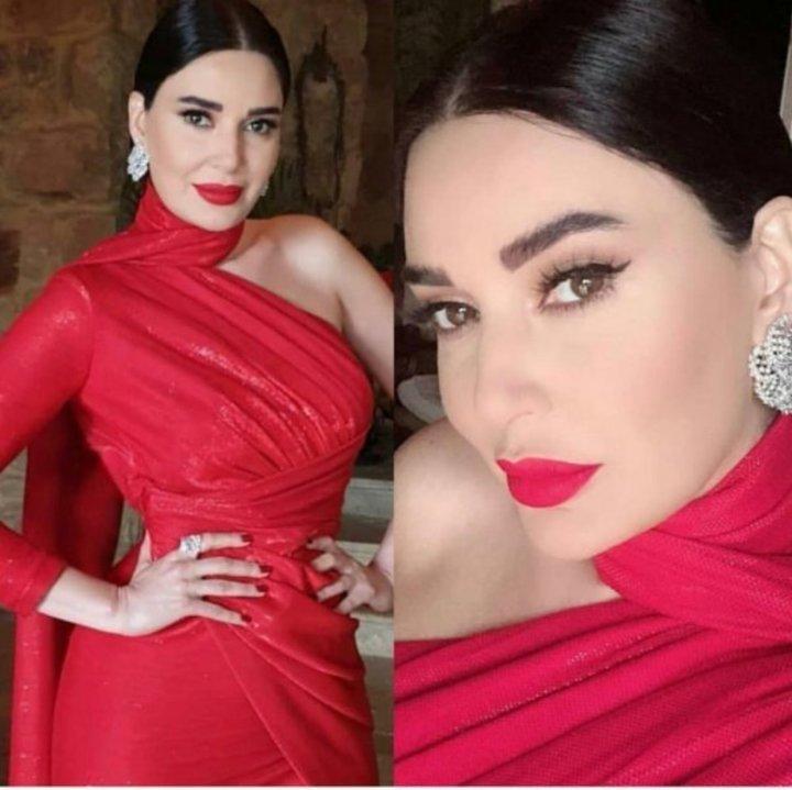 لماذا اختارت سيرين عبدالنور الفستان الأحمر في الهيبة؟