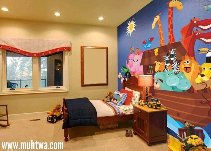 الوان غرف اطفال 2019