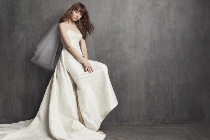 أجمل موديلات طرحات العروس 2020