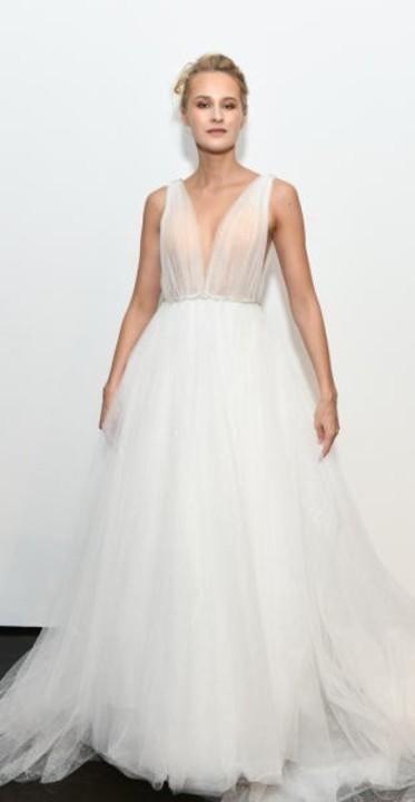93657028e0252 فساتين زفاف 2019 منفوشة تخفي الأرداف الكبيرة