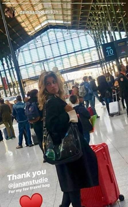 بالصور - زينة عاشور تخطف الانظار بملامحها من دون مكياج.. والجمهور يشبهها بدينا الشربيني!