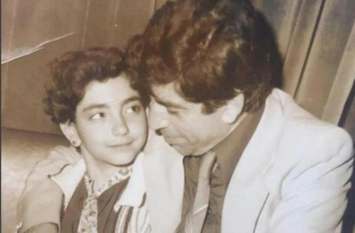 أمل عرفة تنشر صورة من طفولتها و الجمهور في صدمة