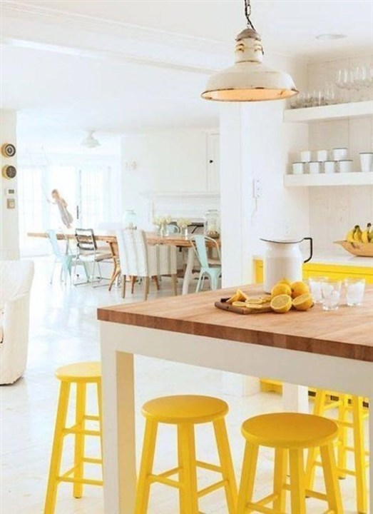 اللون الأصفر يعزّز اشراقة منزلك في صيف 2019
