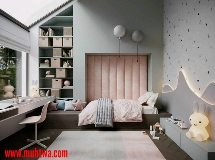 غرف نوم اطفال حديثة 2019
