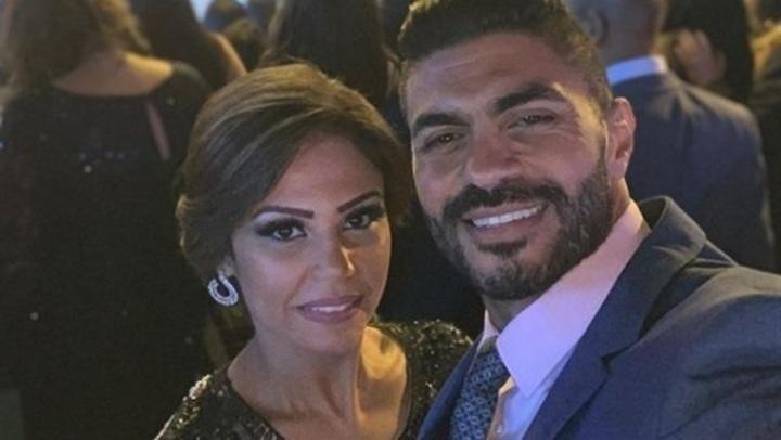 زوجة خالد سليم تخطف الأنظار فى عيد ميلاد عمرو دياب