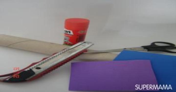 مشغولات يدوية: قواعد من الفوم الملون لبيض شم النسيم