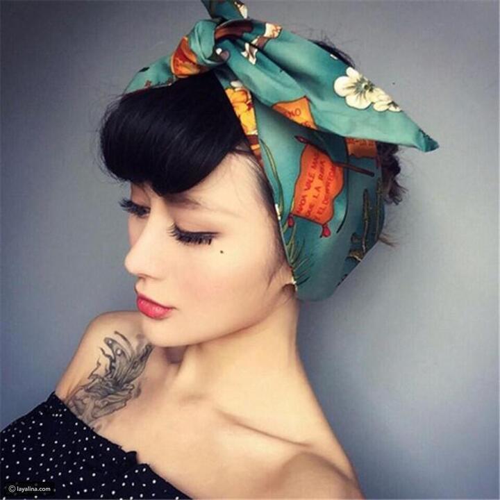أطواق الشعر العريضة موضة اكسسوارات عام 2019