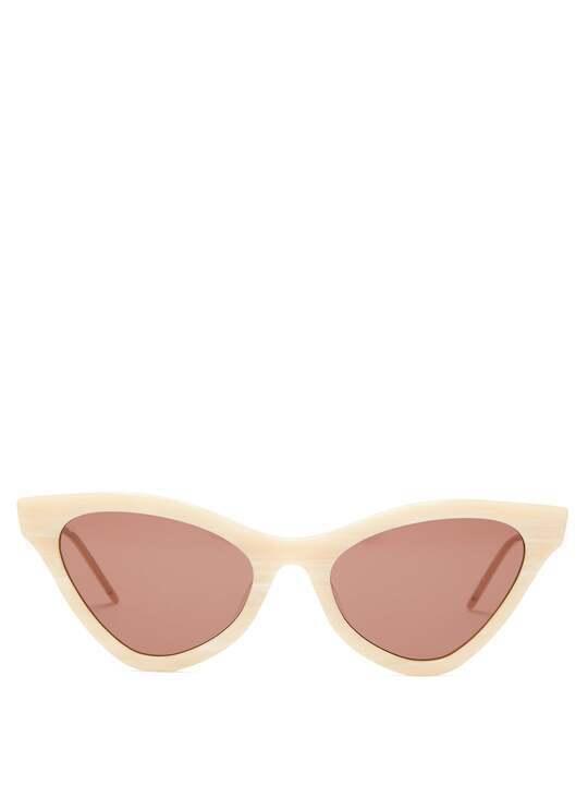 النظارات الشمسية ذات الإطارات العريضة ترند شتاء 2020